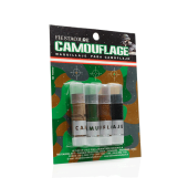 Camouflage Display Fiesta Color x4