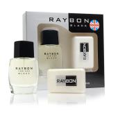 Set Loción+Jabón Raybon Black