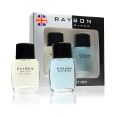 Set Loción+After Shave Raybon Black