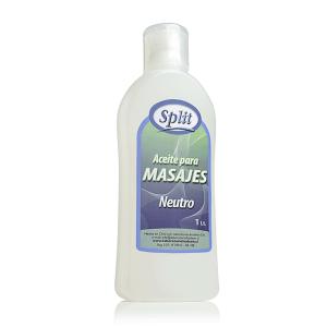 Aceite para Masajes Neutro Split 1lt.